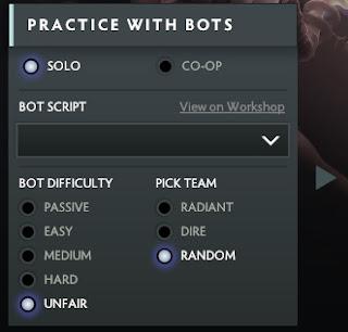 Bermain dan Berlatih dengan Bot