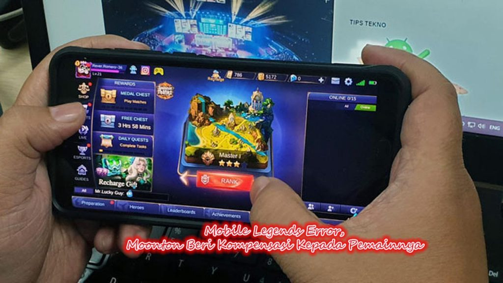 Mobile Legends Error, Moonton Beri Kompensasi Kepada Pemainnya
